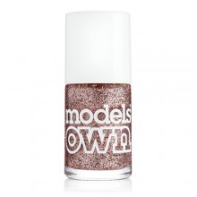 Models Own Pink Fizz Glitter Nail Polish 14ml