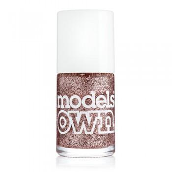 Models Own Pink Fizz Glitter Nail Polish 14ml